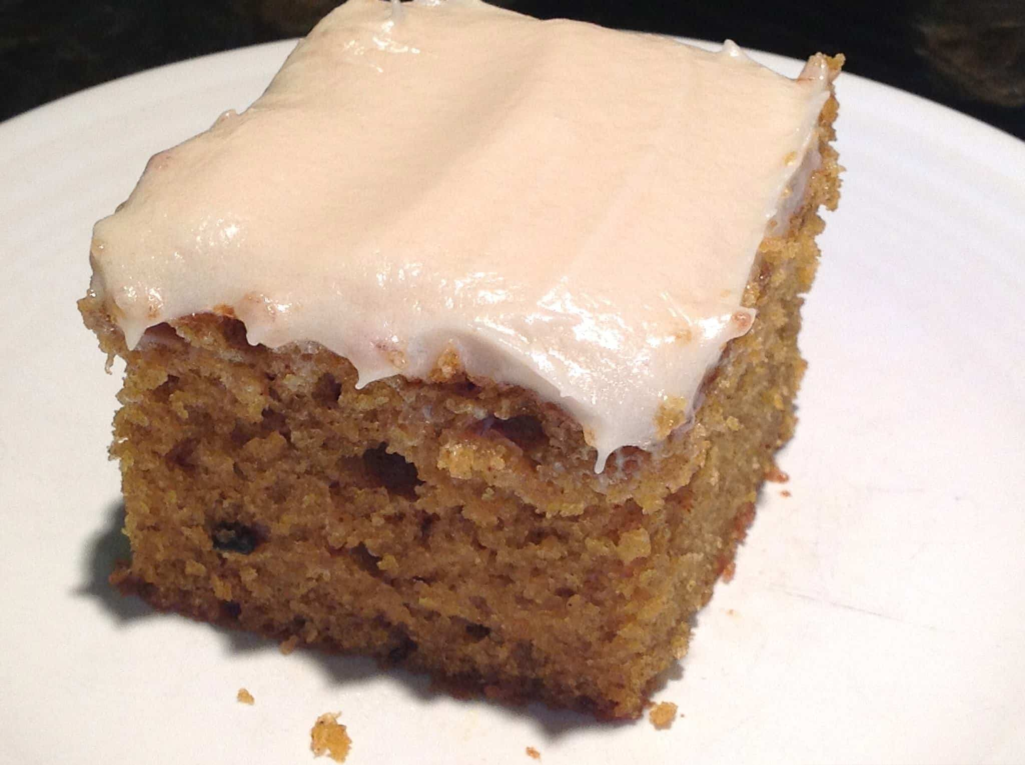 Orange Pumpkin Bars