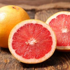 photo of grapefruit representing grapefruit white balsamic vinegar