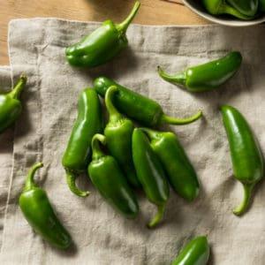 photo of jalapeno peppers representing jalapeno white balsamic vinegar