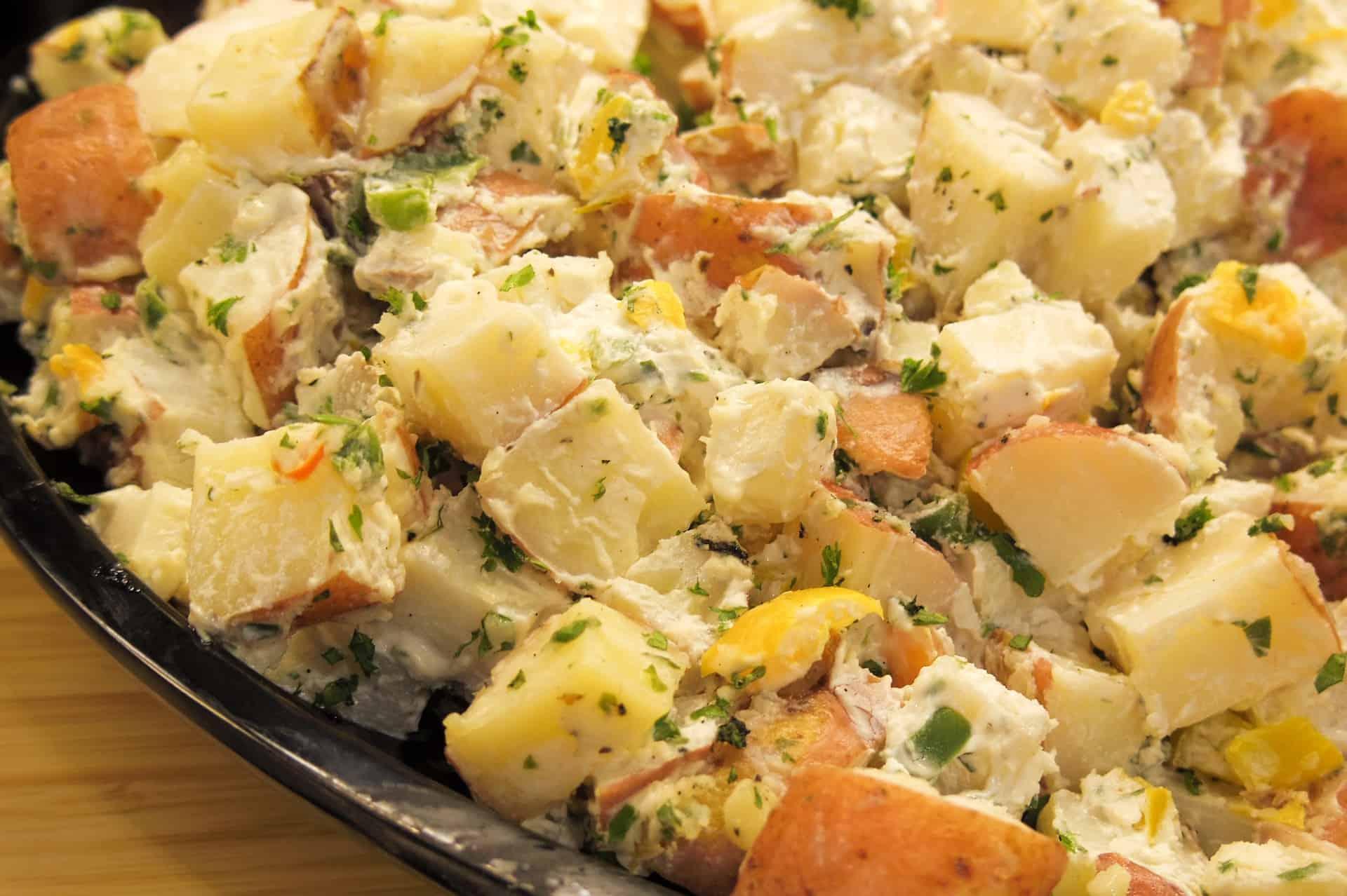 Milanese Gremolata Potato Salad