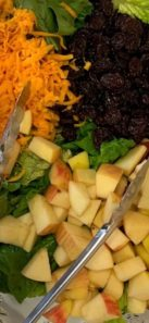 Fall Apple Salad with Maple Balsamic Vinaigrette