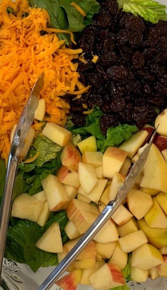 Fall Apple Salad with Maple Balsamic Vinaigrette