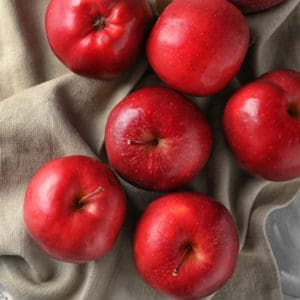photo of red apples representing red apple balsamic vinegar