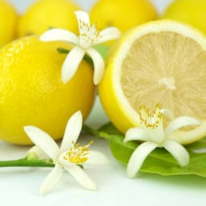 photo of lemons representing Sicilian lemon white balsamic vinegar