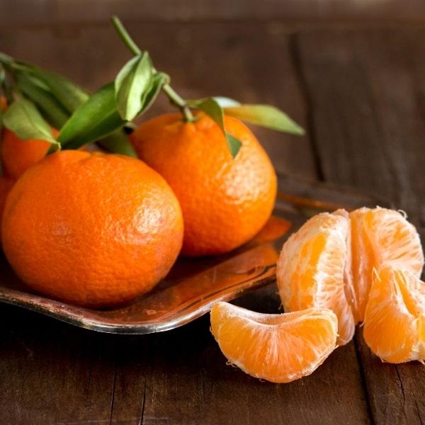 photo of tangerines representing tangerine balsamic vinegar
