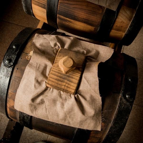 Photo of balsamic vinegar cask representing denissimo balsamico