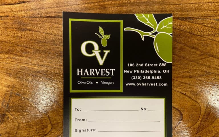 ov harvest gift certificate