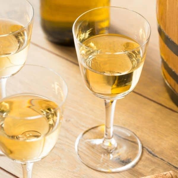 Image of glasses of Sherry representing OV Harvest Sherry Reserva Wine Vinegar